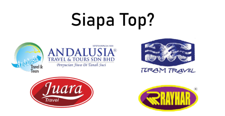 Andalusia Travel, Juara Travel, Tiram Travel, Rayhar Travel- Siapa Top?